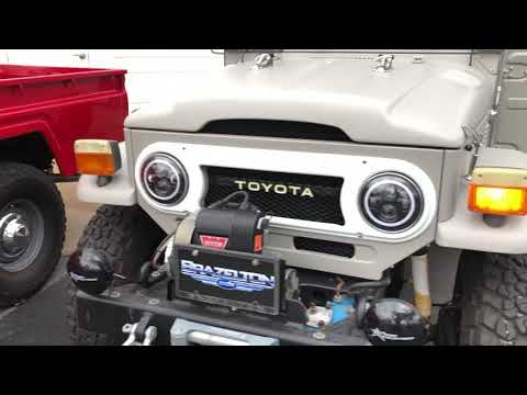 1976 FJ40 Lights Operation