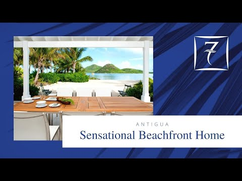 Antigua real estate - Luxury Waterfront Home for Sale in Jolly Harbour