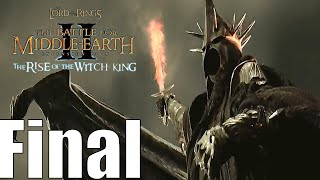 The Lord Of The Rings: The Battle For Middle-earth 2 The Rise of the Witch-king Angmar Final