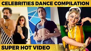 Celebrities Super Hot Dance Compilation | Manju Warrier, Samyuktha Hedge, Pooja