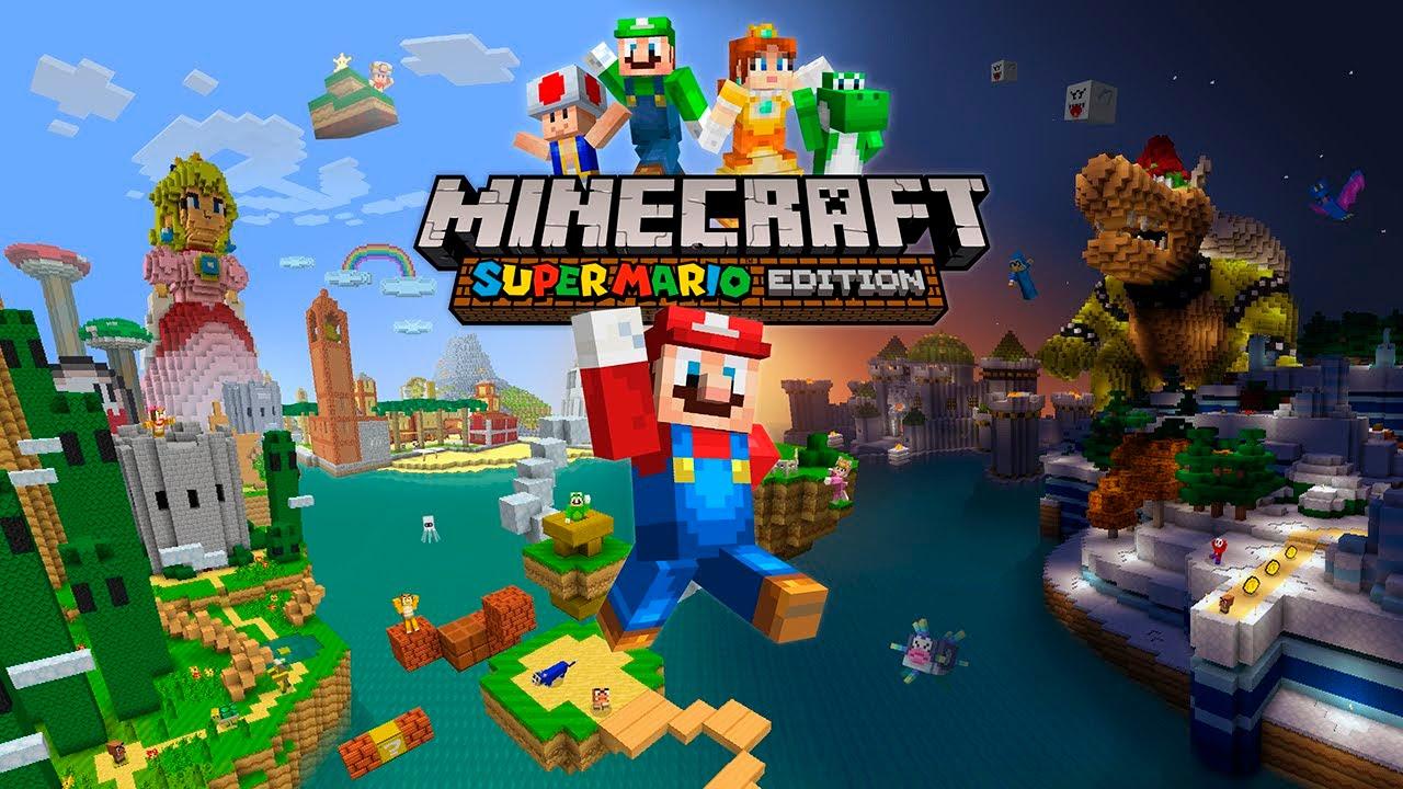 Minecraft Super Mario Edition YouTube - Minecraft mario spiele
