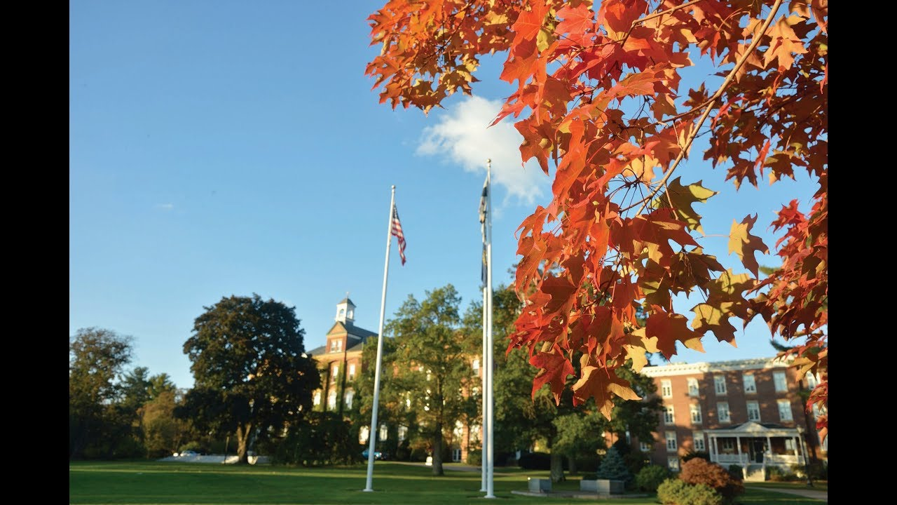 St Anselm Campus Map.Seasons Of Saint Anselm Fall Youtube