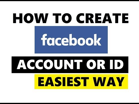 Easy Way To Create Facebook Account ID 2019 | Create Facebook New Account
