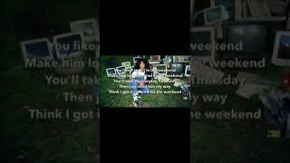 Sza - weekend (lyrics)