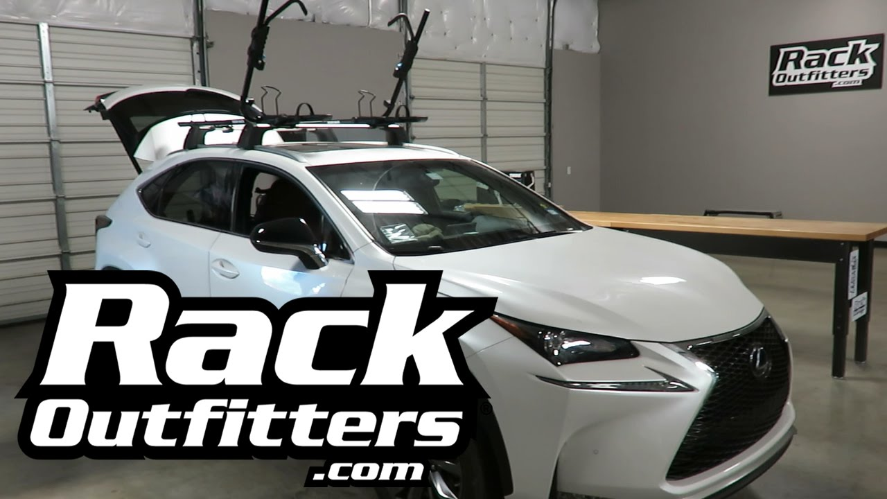 Lexus Nx With Rhino Rack Hybrid Bike Carrier Racks Youtube
