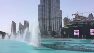 Dubai Fountain Water Show