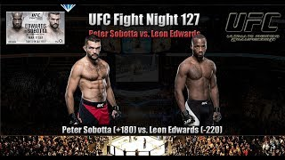 Peter Sobotta vs Leon Edwards  UFC Fight Night 127  - Betting Odds Picks & Preview