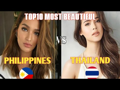 FACEOFF : Thailand vs Philippines | Most Beautiful