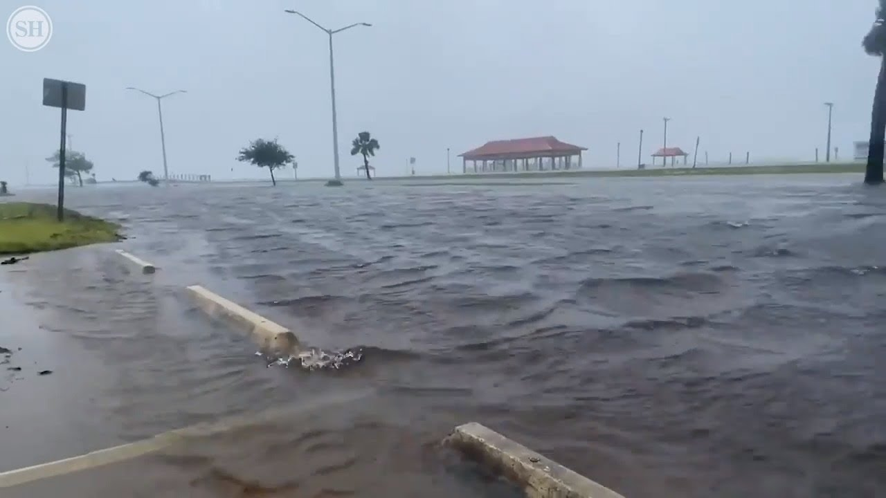 A Look At Flooding Along Mississippi Gulf Coast As Cristobal