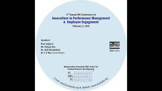 17th annual hr conference on innovations in performance management & employee engagement part 2 of