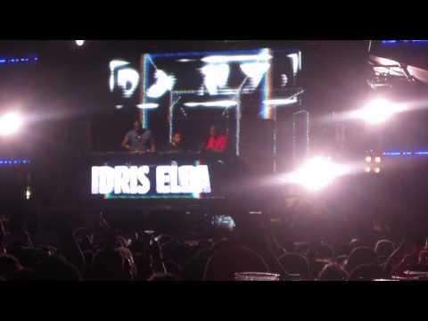 Idris Elba DJing at Ibiza Rocks