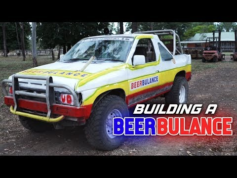 BUILDING A BEERBULANCE - Sick Puppy 4x4