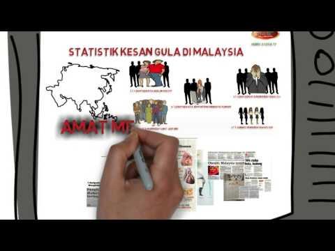 Tahukah Anda Rakyat Malaysia Kini Di Ancam Bahaya Gula Berlebihan?