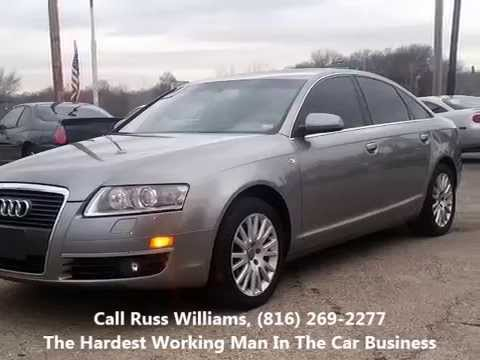 2007 audi a6 kansas city st joseph mo ks used cars russ williams pre owned auto kc youtube. Black Bedroom Furniture Sets. Home Design Ideas