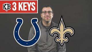 3 Keys for Colts vs. Saints