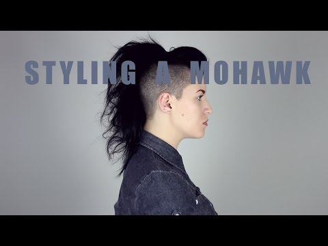 Different Ways I Style My Mohawk