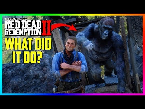 The REAL Reason Why This GIANT Gorilla Can Be Found In Red Dead Redemption 2! (RDR2 Mystery Solved) thumbnail