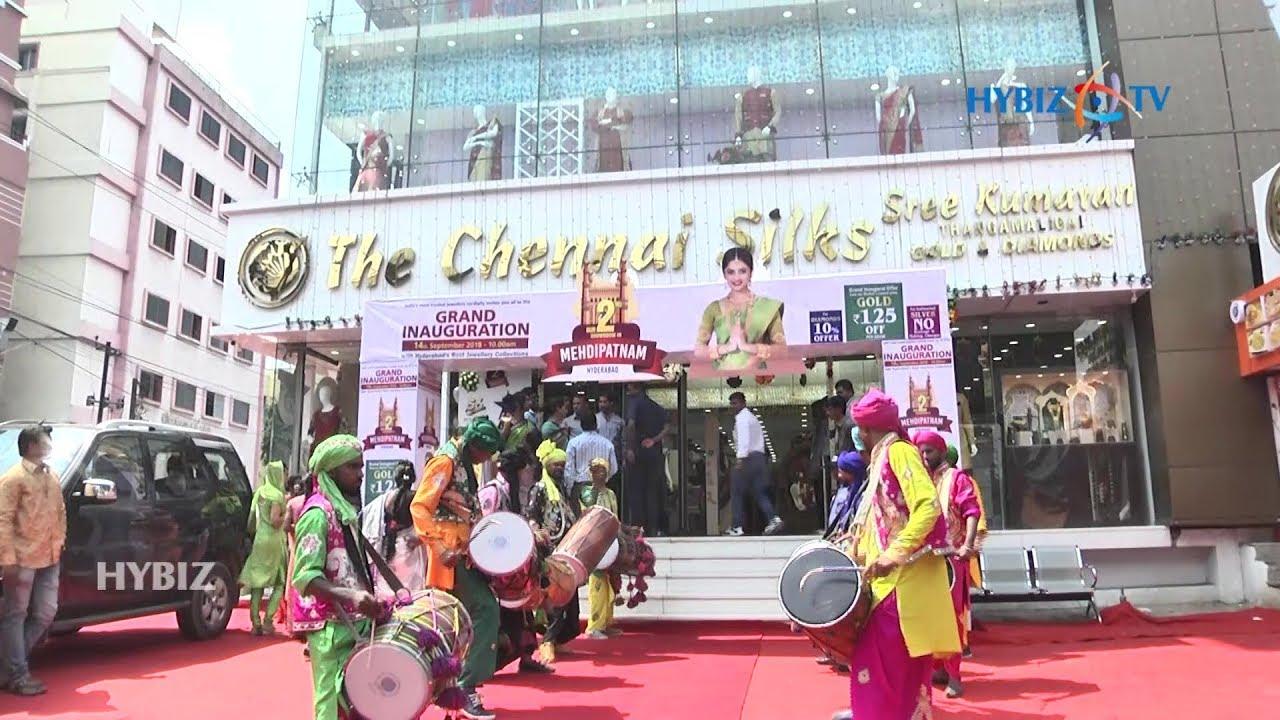 The Chennai Silks | Sree Kumaran Gold and Diamonds Opened in Mehdipatnam