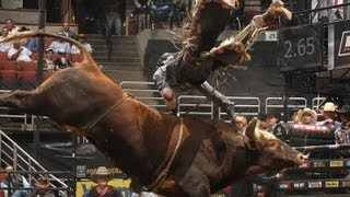 WRECK: J.B. Mauney gets flipped off Bushwacker (PBR)