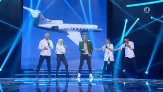 Danny Saucedo - Medley med juryns låtar - X Factor (TV4)