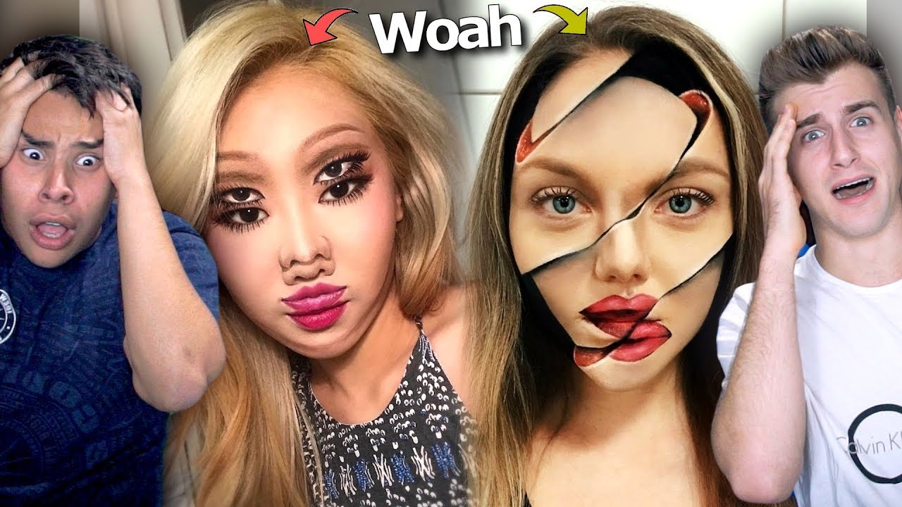 insane make up transformations youtube