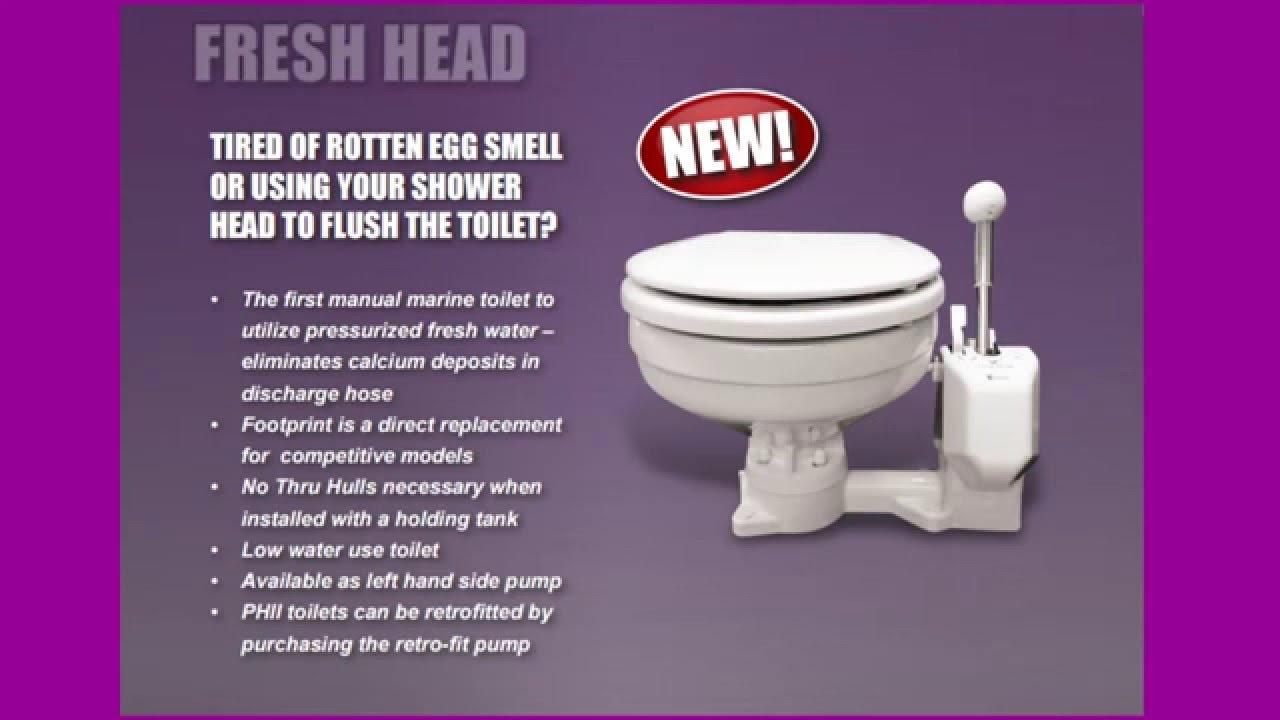 How Does a Marine Toilet Work-Fresh Head