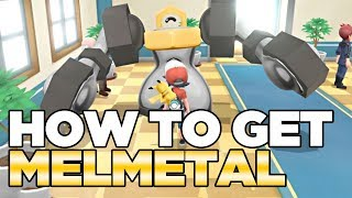How To Get Melmetal in Pokemon Let