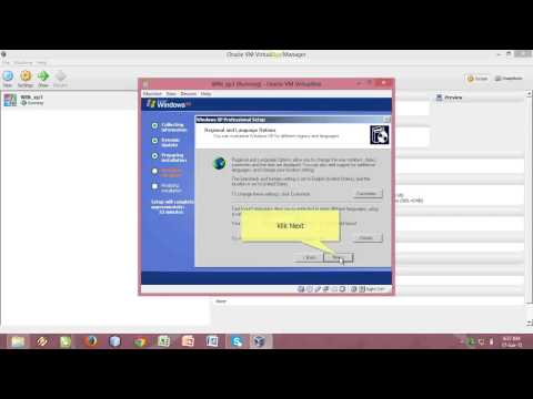 TUTORIAL PENGINSTALAN WIND0WS XP   (MEDIA VIRTUAL BOX)