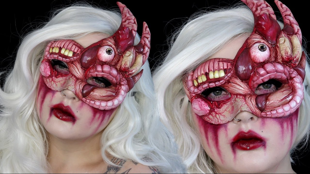 Emejing Gory Halloween Makeup Pictures - harrop.us - harrop.us