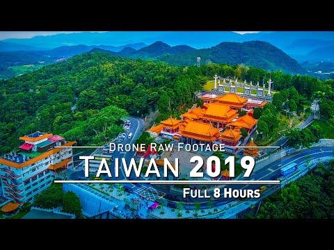 【4K】Drone RAW Footage | TAIWAN 2019 ..:: Taroko Gorge :: Sun Moon Lake :: Keelung | UltraHD Video