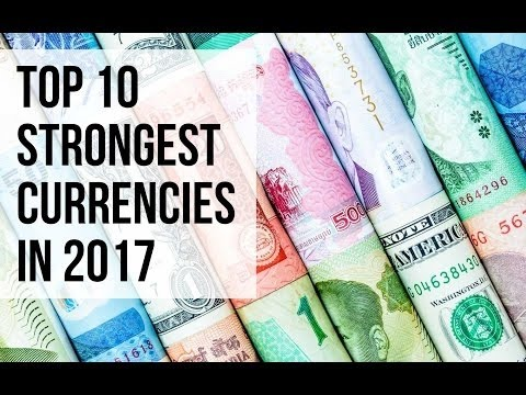 Highest Currency In The World 2018 Top 10