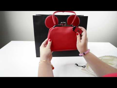 Disney x Coach Kisslock Bag Unboxing & Review