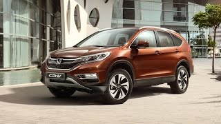 Тест-драйв Honda CR-V 2015 Test Drive хонда срв 2015
