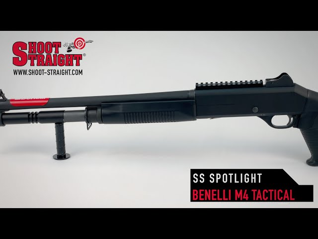 Benelli M4 Tactical Shotgun - Shoot Straight Spotlight