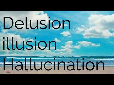 Difference Between Illusion And Delusion