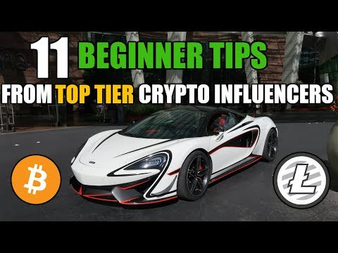 Cryptocurrency Beginner Tips from TOP Tier Crypto Influencers | World Crypto Con 2018