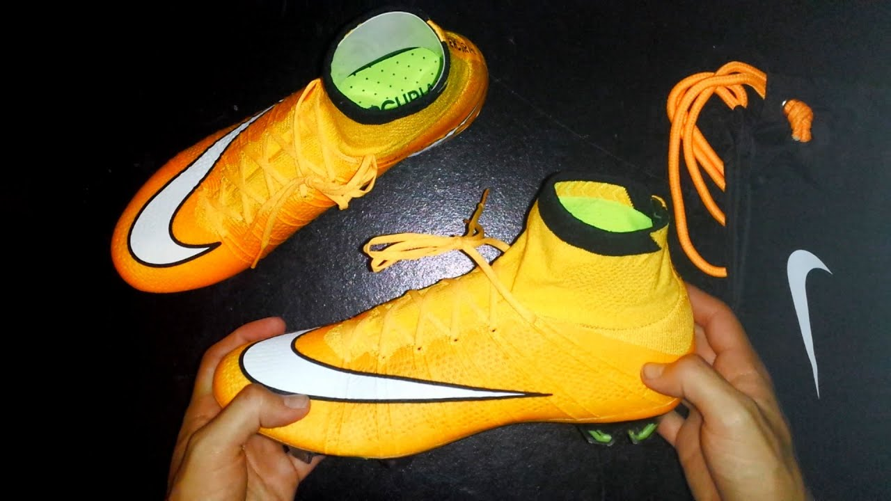 best loved 26c6b 862d9 Unboxing   Nike Mercurial Superfly IV Laser Orange   Alexis Sanchez, and  Ibrahimovic Boot
