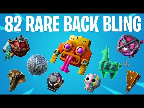 FORTNITE ALL RARE BACK BLING (All Season 1 To 10 Backpack)