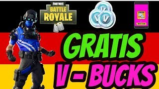 Gratis V Bucks - Fortnite So Bekommst du Gratis V-BUCKS Glitch (Deutsch)