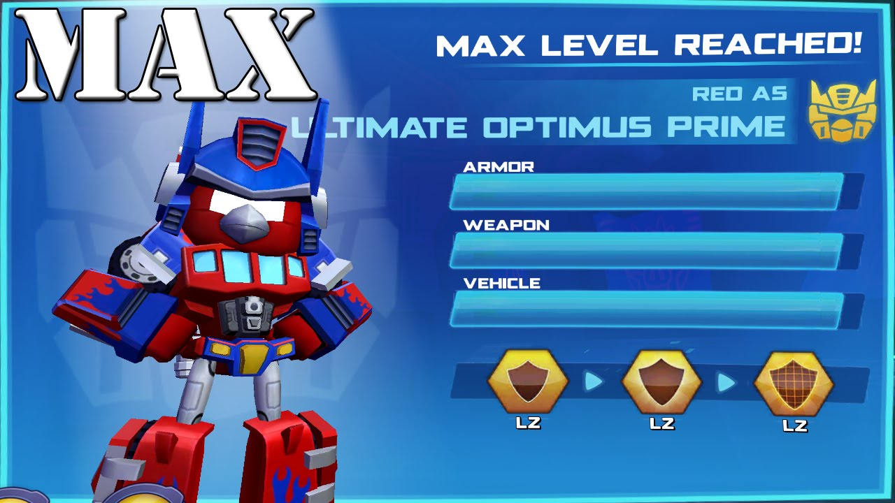 angry birds transformers ultimate optimus prime max level youtube. Black Bedroom Furniture Sets. Home Design Ideas