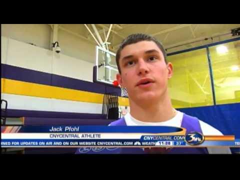 CNYCentral Athlete- Christian Brothers Academy's Jack Pfohl