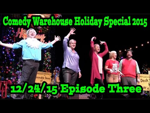 Comedy Warehouse Holiday Special 2015 At Disney's Hollywood Studios Episode Three