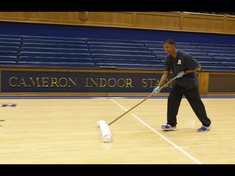Duke Employee Makes Cameron Indoor Stadium Standout