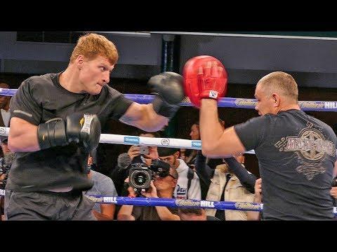 RUSSIAN THREAT Alexander Povetkin  FULL PUBLIC WORKOUT vs Anthony Joshua