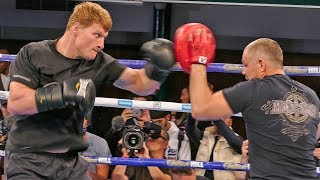 RUSSIAN THREAT Alexander Povetkin | FULL PUBLIC WORKOUT vs. Anthony Joshua