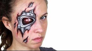 Robot / Terminator Makeup Tutorial