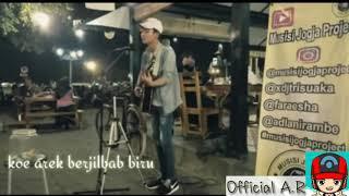 #LaguBaper  Lagu Oi Adek Berjilbab Biru || Cover Musisi Jogja Projects (Lyrics) Baper Abissss......