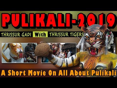 THRISSUR PULIKALI - 2019 | All About Pulikali In A Short Movie | Kerala Traditional Art