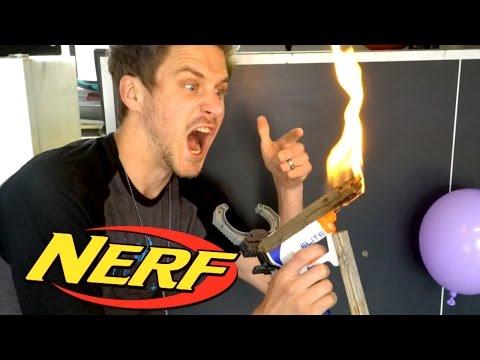 NERF GUN FIRE MOD!