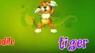 №7 ''Дикие животные'' видео урок английского от детского центра ''Smartik''  и телепередачи ''Рюкзач